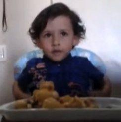 Luiz Antonio, mais uma criança brilhante que defende os animais desde pequenino.