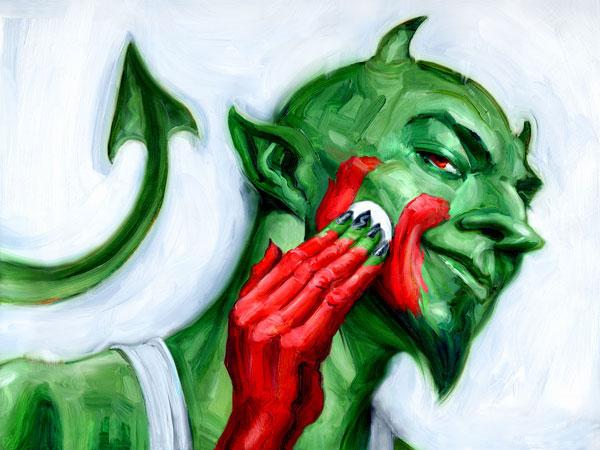 Resultado de imagem para diabo verde ambiental