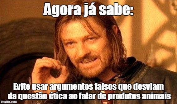 evite argumentos falsos