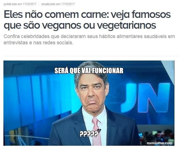Listas de vegetarianos e veganos famosos funcionam?