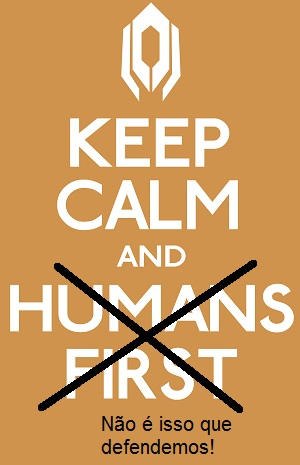 """Humans first"": nada a ver com veganismo interseccional"