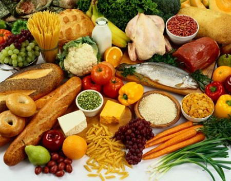 Variados alimentos de origem vegetal e animal: o universo alimentar da pesquisa sobre a agropecuária dos EUA