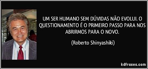Roberto Shinyashiki sobre questionamento
