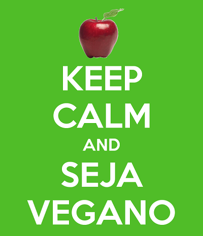 Keep Calm and Seja Vegano