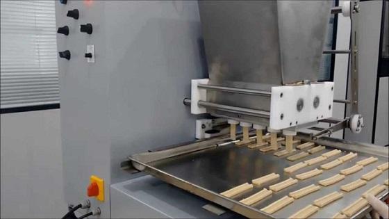 Máquina extrusora de fabricar biscoitos/bolachas