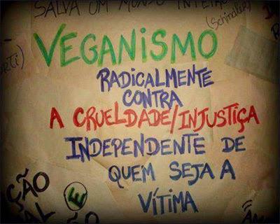 Veganismo, contra qualquer crueldade e injustiça