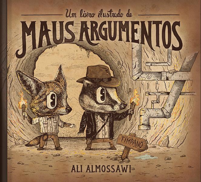 Livro ilustrado dos maus argumentos