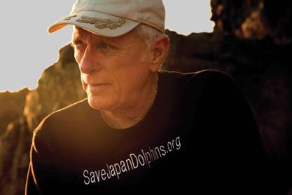 Ric O'Barry, hoje defensor dos golfinhos
