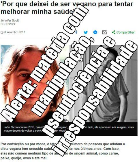 Print reportagem antivegana