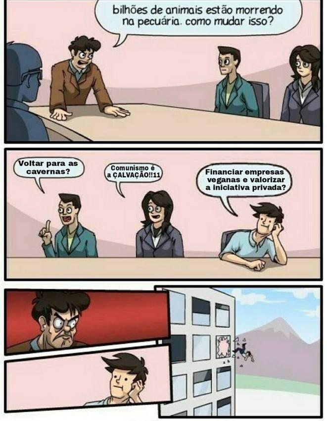 meme de direita, veganismo capitalista