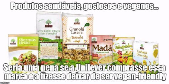 Compra da Mãe Terra pela Unilever