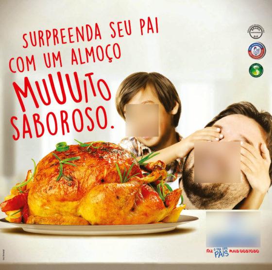 comercial de frango