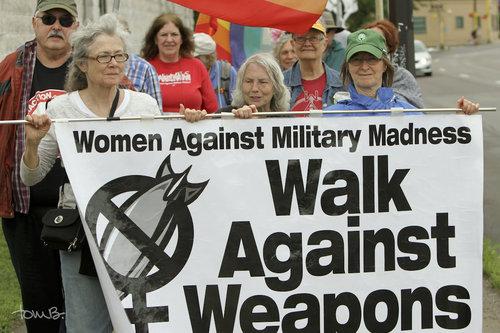 Protesto contra armas