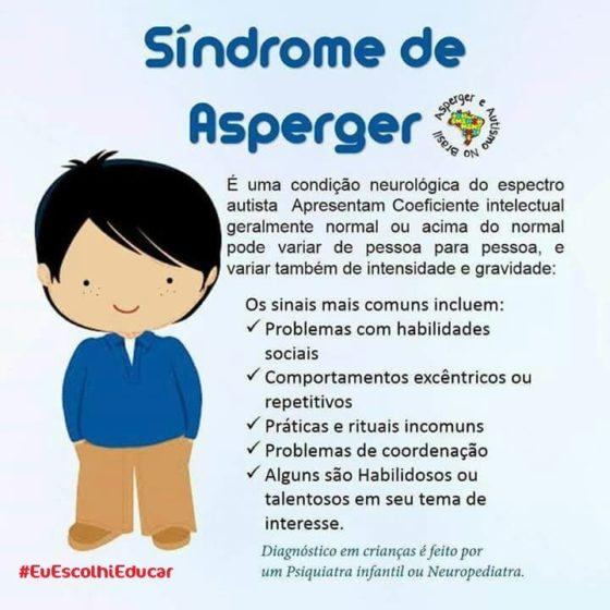 Descrição Síndrome de Asperger
