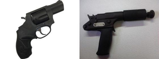Revólver e pistola de abater animais