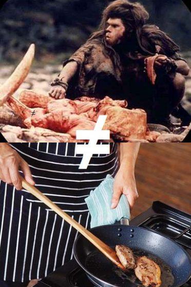 Homo erectus X humano que come carne