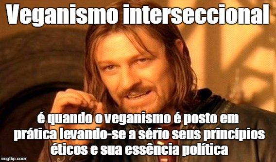 Veganismo interseccional e ética