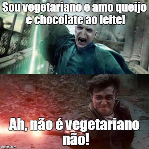 Voldemort não é vegetariano