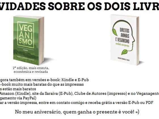 Novidades dos meus livros - 17/02
