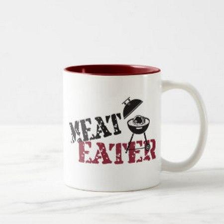 Caneca comedor de carne