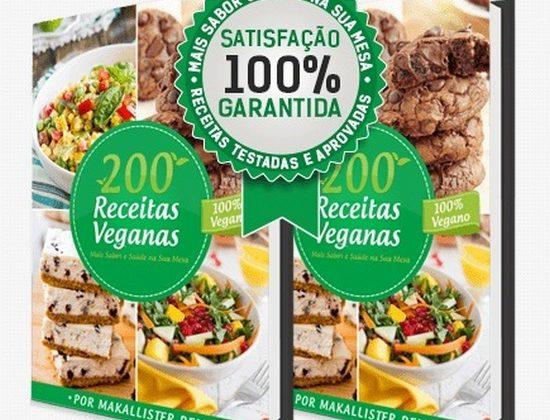 E-book 200 Receitas Veganas