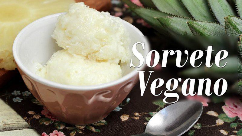 Delicie-se com sorvetes veganos caseiros