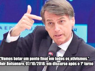 Jair Bolsonaro, uma ameaça aos Direitos Animais no Brasil