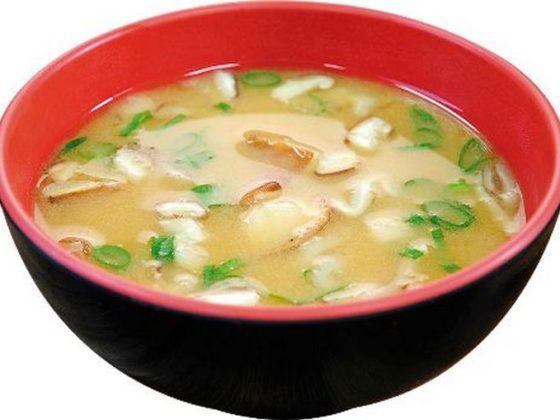MIssoshiru vegano, uma das muitas sopas veganas existentes