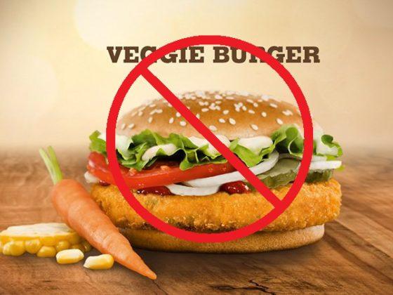 Opções ovolactovegetarianas não são opções vegetarianas