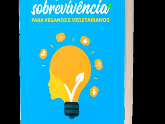 livro Manual de sobrevivência para veganos e vegetarianos